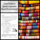 Comprehensive Guided Notes on the Imperative Mood/Commands