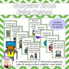 Computer Room Rules Posters