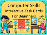 Computer Skills Digital Task Cards for Kindergarten