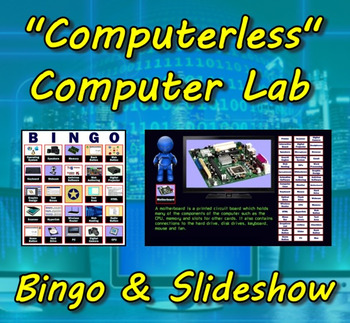 Computerless Computer Lab Bingo & Slideshow