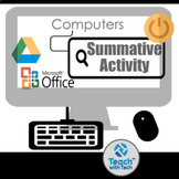 Computers Summative Evaluation Activity Microsoft Office G