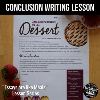 good essay conclusion examples