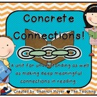 Concrete Connections {A Reading Strategy}