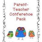 Conferences (Parent-Teacher) Pack