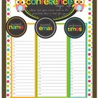 Conferences are a Hoot! Resources to help keep organized f