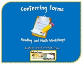Conferring Forms for Reading and Math Workshop Common Core