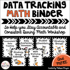 Conferring Organizer: Math Teacher Binder (Zebra Theme)