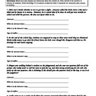 Conflict Worksheet