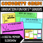 Congrats Grad! Graduation Fun for 5th Graders