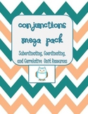 Conjunctions Mega Pack- Help w/Compound & Complex Sentence