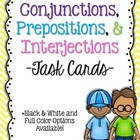 Conjunctions, Prepositions, & Interjections: 5th Grade Com