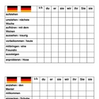 Connect 4 Separable prefix verbs in German