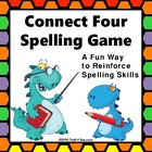 Spelling Connect Four Partner Color Game