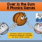 Consonant Digraph Games-- {Sports Balls-Over in the Gym}