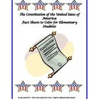 Constitution Day Activities: Kindergarten, 1st and 2nd Grade