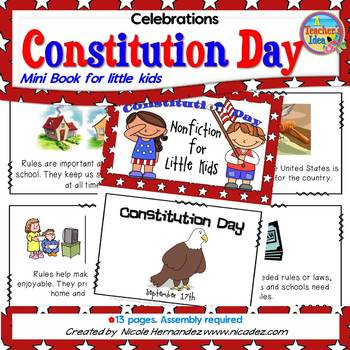 Constitution Day: NonFiction for Little Kids