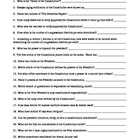 Constitution Scavenger Hunt Worksheet