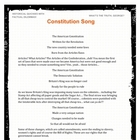 Constitution Song  Great For Social Studies US History MP3