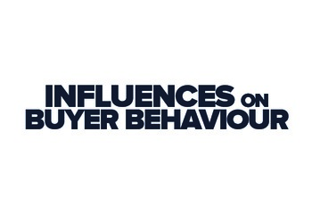 Influences on Buyer Behaviour