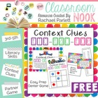 Context Clue Tic-Tac-Toe Game {Freebie}