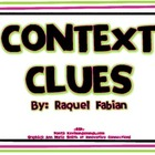 Context Clues Posters (Common Core - ELA L.2.4)