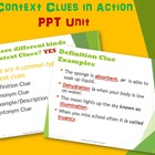 Context Clues Power Point Unit