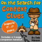 Context Clues Powerpoint- The 5 Main Types