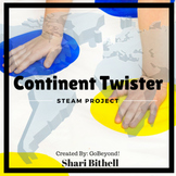 Common Core Continent Twister - A Twist on Mapping and Geography