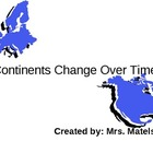 Continents Change Over Time
