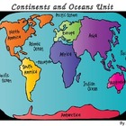 Continents,Oceans, and Maps Powerpoint