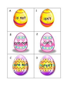 Contraction Egg Hunt