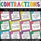 Contraction Scoot Game (not, am, is, and are)
