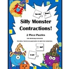 Contractions: Silly Monsters/ Halloween