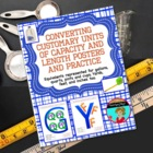 Converting Standard Lengths and Liquids Poster ~ Easy to R