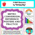 Converting Units of Measurement Poster (When to Multiply o