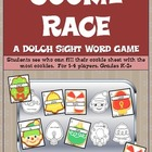 Cookie Race- A DOLCH Sight Word Game