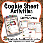 Cookie Sheet Activities Volume 1: ABC Order, Rhyme, Making Words