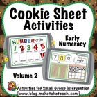 Cookie Sheet Challenge Volume 2:  Number Order, Number Concepts