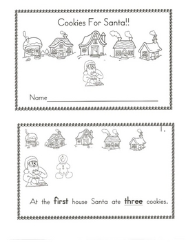 Cookies for Santa Book