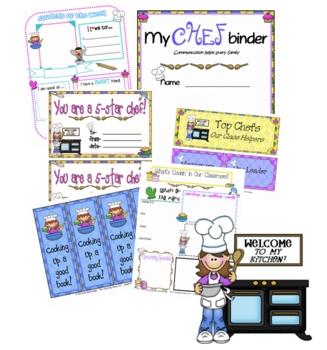 Cooking Classroom Theme