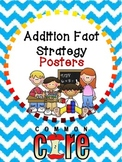 Cool Common Core Addition Strategy Bulletin Board Set