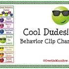Cool Dudes! Behavior Clip Chart