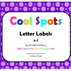 Cool Spots Letter Labels