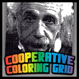 Cooperative Grid Art Project - Albert Einstein