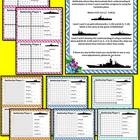 Coordinate Battleship - 4 Levels