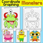 Coordinate Graphing Monster Mystery Pictures - Ordered pai