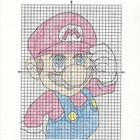 Coordinate Graphing Mystery Picture [Mario]