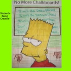 Coordinate Plane Pictures (Bart Simpson)