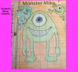 Coordinate Plane Pictures (Monster Mike Wazowski)