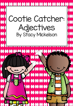 Cootie Catcher - Adjectives